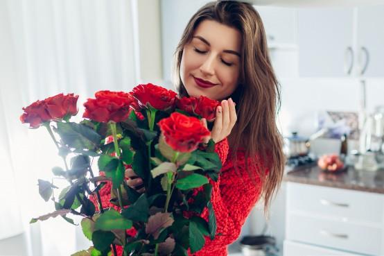 Vandaag bloemen in huis