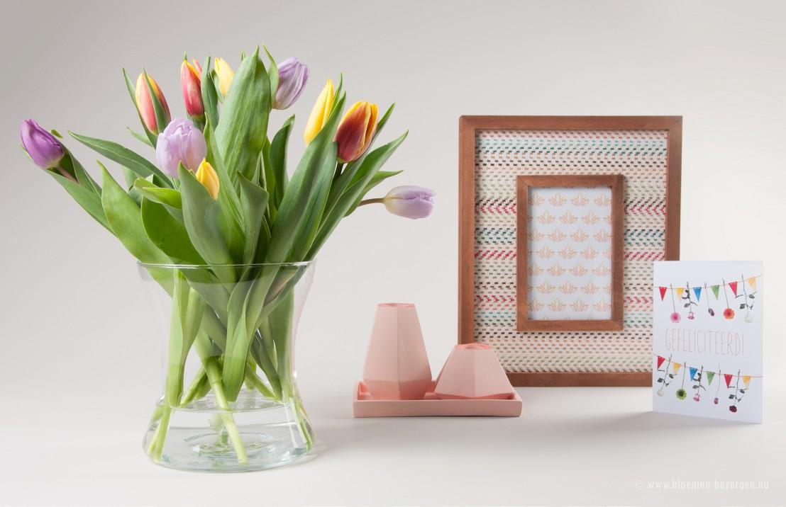 Mooie brievenbus bloemen van Bloompost