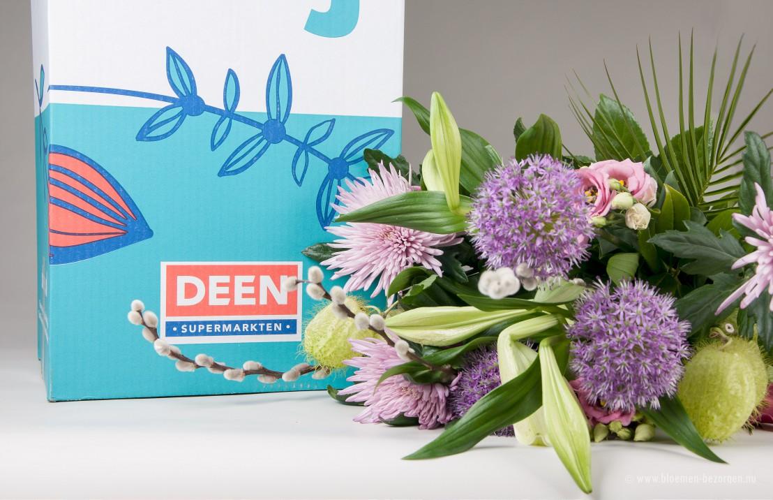 Prachtig boeket verse bloemen van Deen
