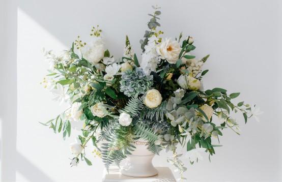 Prachtig bouquet met uitstraling