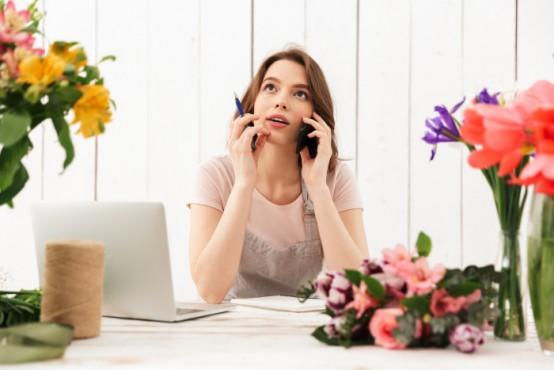 Bloemen abonnement kiezen online met je laptop