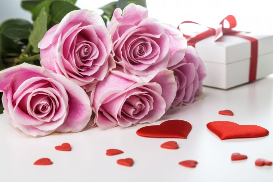 Brievenbusbloemen valentijnsdag bestellen