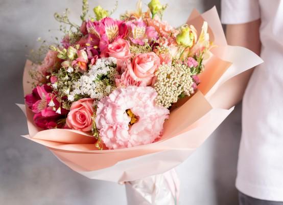 Geef boeket bloemen cadeau met bloemenabonnement