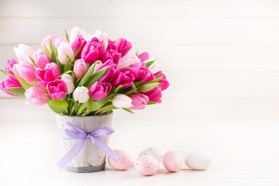 Boeket bloemen met Pasen bestellen