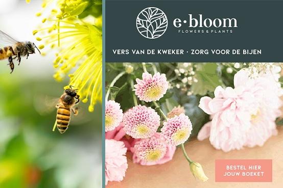 Duurzame bloemen en boeketten voor Moederdag kiezen, zorg voor de bijen